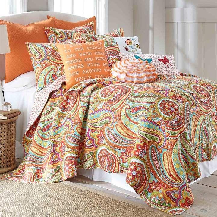 Janet Quilt Set Quilt Sets Paisley Bedding Paisley Quilt