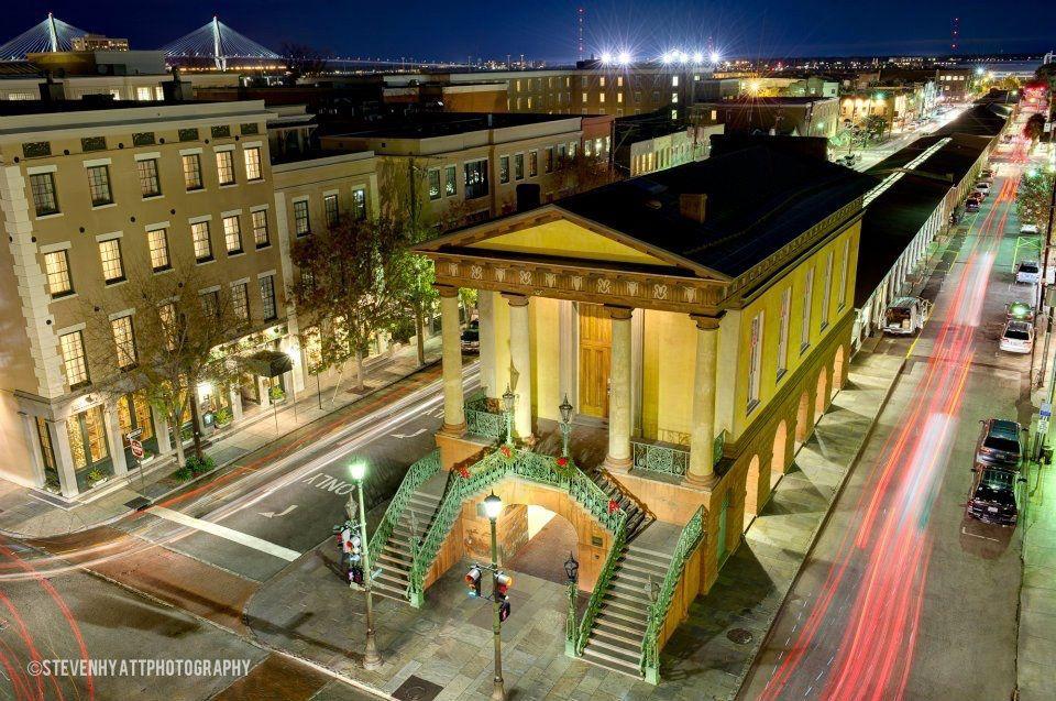 The Market at night in Charleston SC! Charleston sc