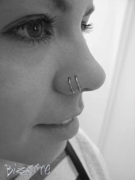 Niobium Nose Ring
