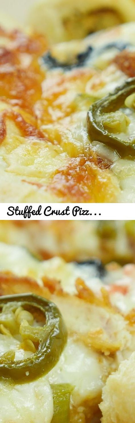Stuffed Crust Pizza Pizza Dough Recipe By Food Fusion Tags