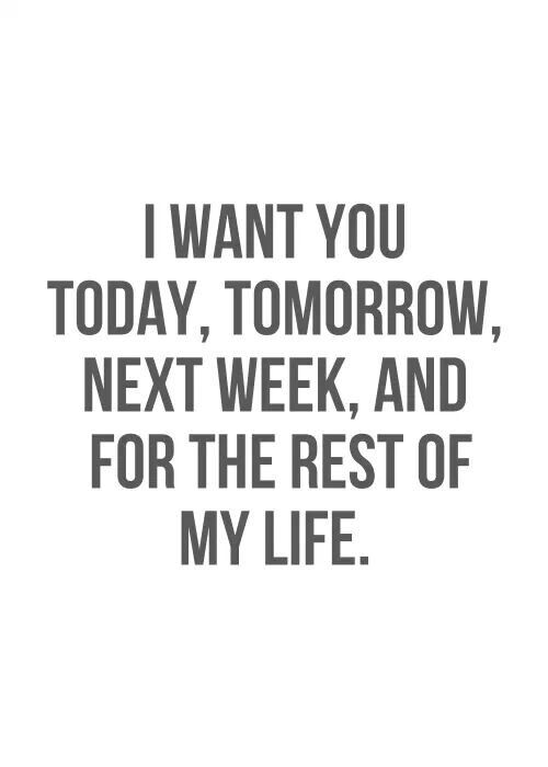 Luxury I Want You Forever Quotes Michigancougarcom