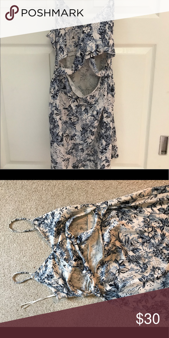 Free people cut out dress Free people cut out dress, never worn. Free People Dresses Mini