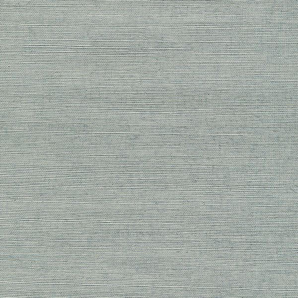 Grasscloth Dining Room: Haruki Light Blue Grasscloth