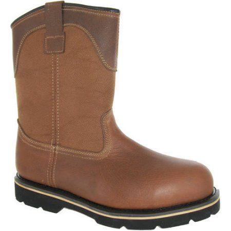 07432de78c6 Brahma Men's Bay Steel Toe Pull On Work Boot | Products | Steel toe ...