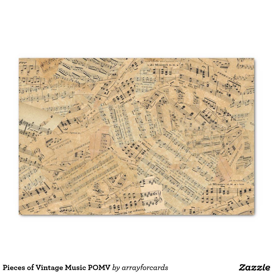 Pieces of Vintage Music POMV