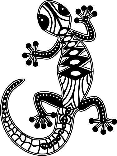 Marabu - Plantilla para estarcido (DIN A4), diseño de lagartija ...
