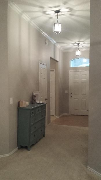 Collonade Gray Sw 7641 Sherwin Williams Close To Bm Revere Pewter Paint Colors Pinterest