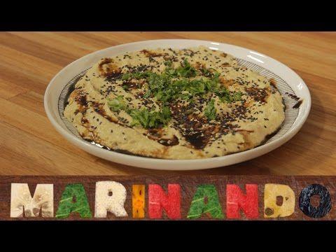 Pasta (ou homus?) de abóbora com tahine - YouTube
