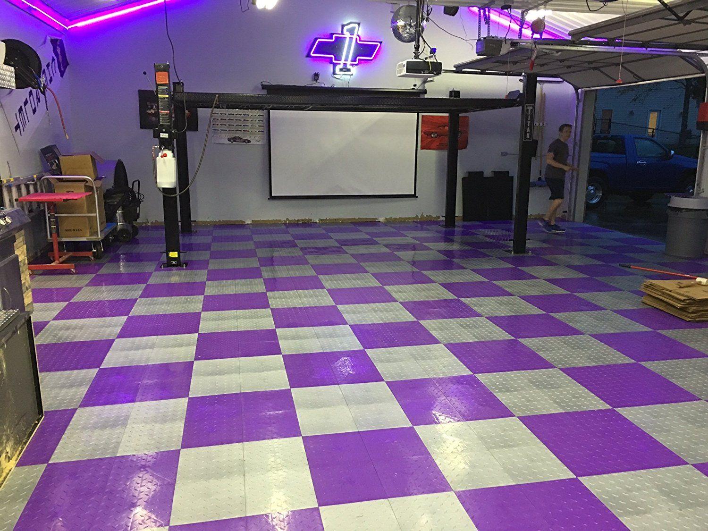 Speedway garage tile 789453p 50 diamond garage floor 6 lock diamond speedway garage tile 789453p 50 diamond garage floor 6 lock diamond tile 50 pack dailygadgetfo Choice Image