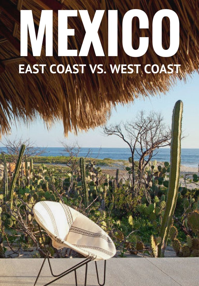 Given the limited number of vacation days many receive in the U.S., it's not surprising that Americans tend to turn to Mexico – a destination that offers up endless sunshine and relaxation a short distance away – when planning a trip. But which Mexican coast should you spend those precious vacation days on?