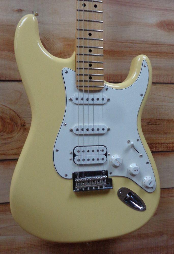 Fender Player Stratocaster HSS - Maple Buttercream SN Mx19223642 for sale online | eBay