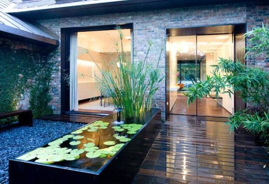 Landscaping And Outdoor Building , Outdoor Small Modern ...