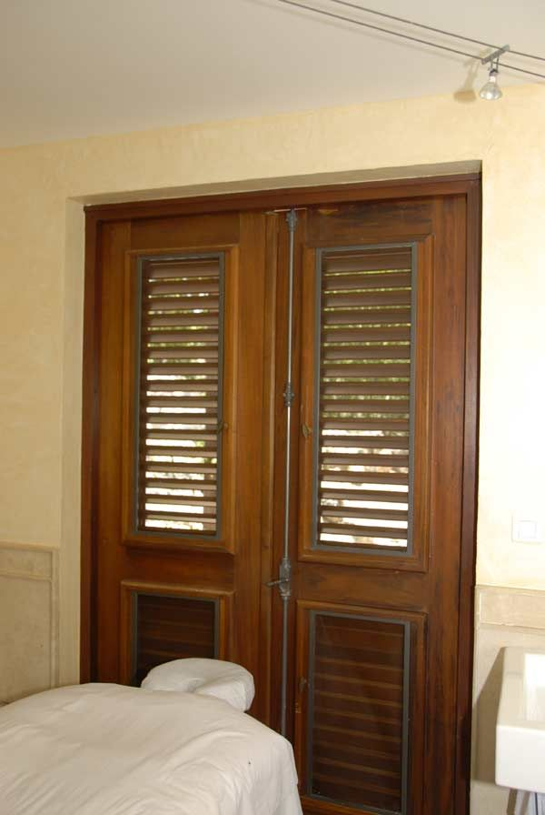 Caribbean Woodwork Operable louver doors & Caribbean Woodwork Operable louver doors | doors u0026 windows ...