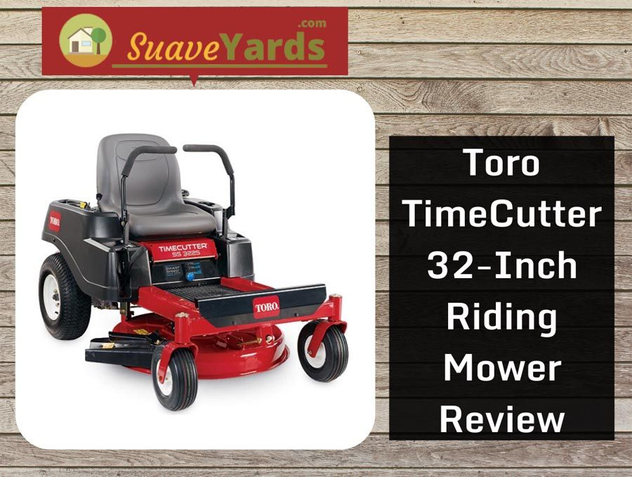Toro TimeCutter 32Inch Riding Mower Review in 2020