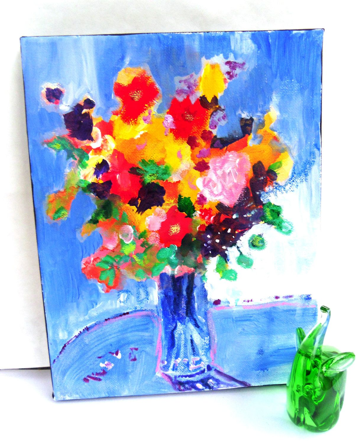 Abstract Vase Of Flowers Painting Google Search Abstract