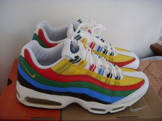 Nike Air Max 95 Olympic#Repin By:Pinterest++ for iPad#
