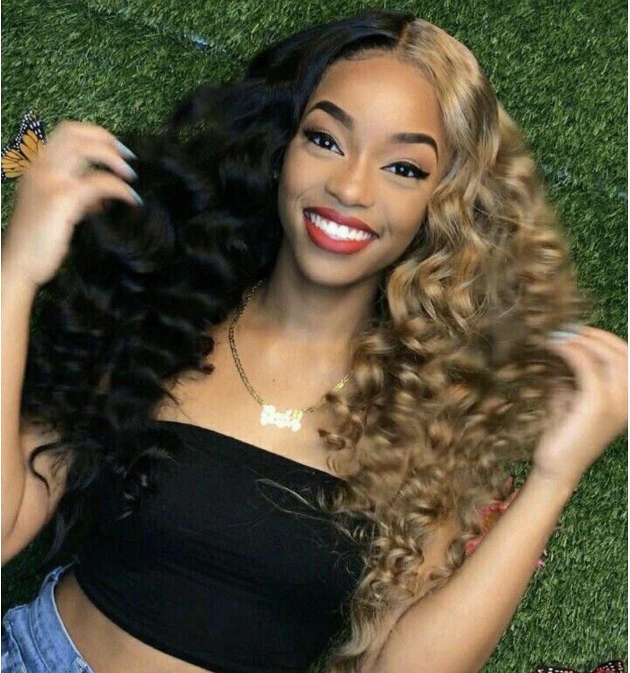 follow amalmiller for more 💞 Hair color for black hair