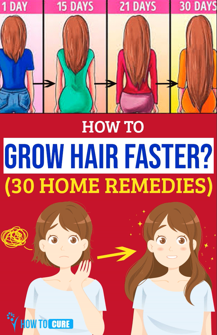 30 Home Remedies To Grow Your Hair Faster  HowToCurefaster