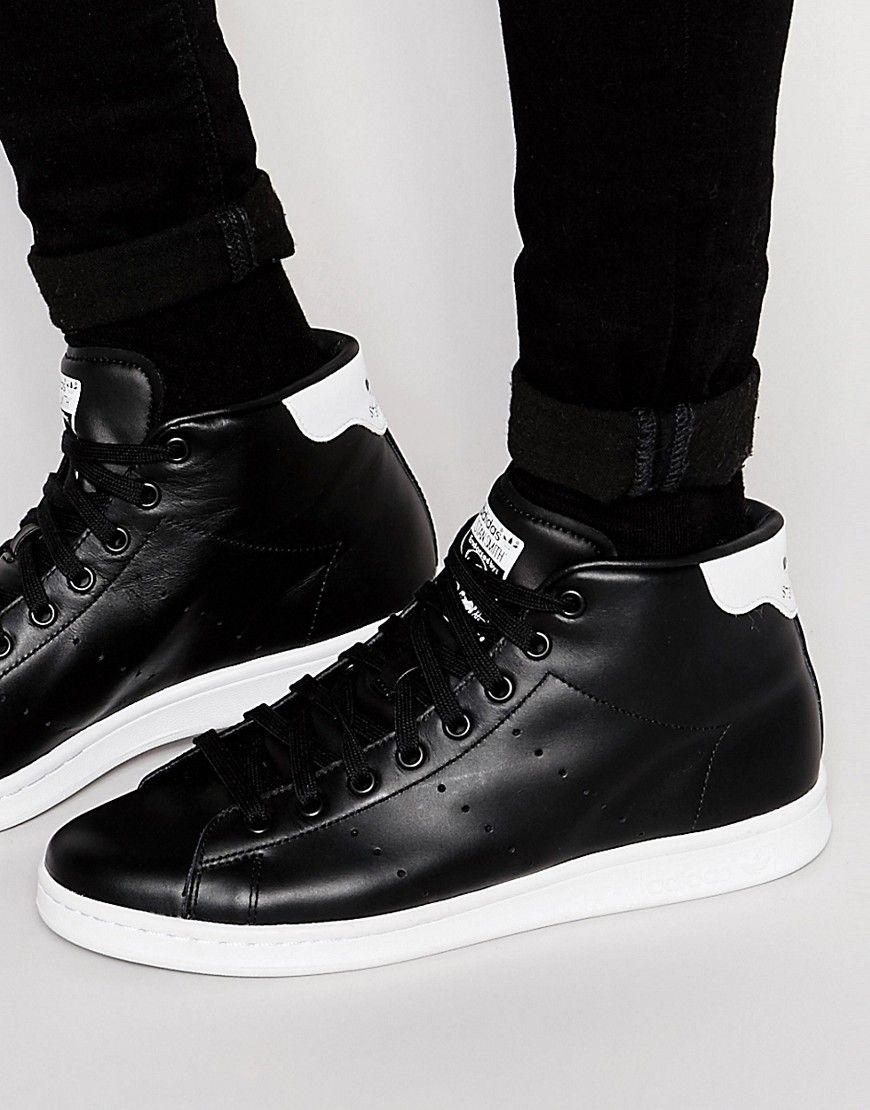Super cool adidas Originals Stan Smith Mid Trainers S75027