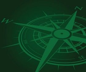 Vector compass background design material 08