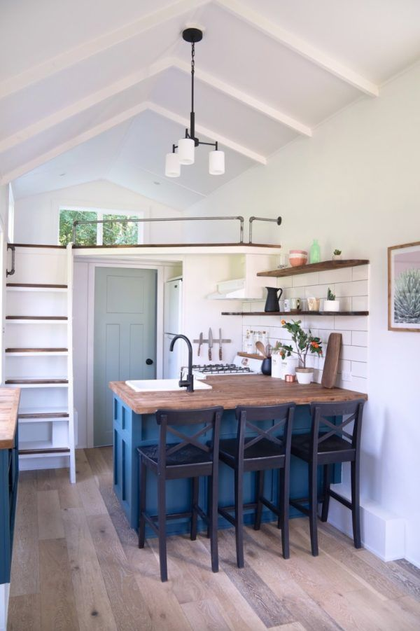 ft seabrook tiny house with downstairs murphy bed also best homes images cabin houses rh pinterest