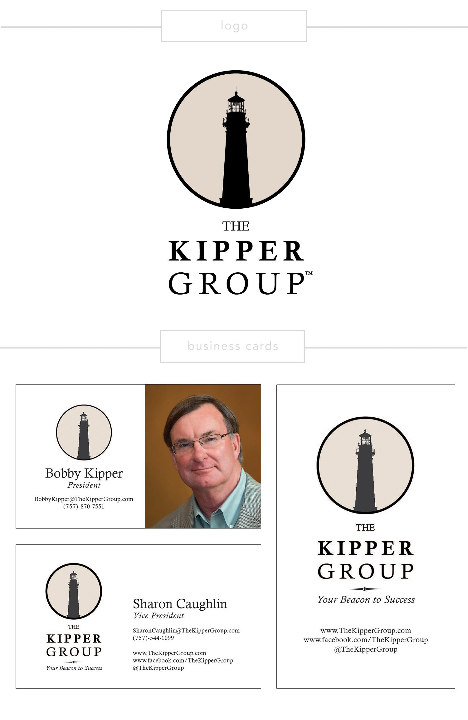 The Kipper Group | Logo & Business Cards | Asked to: Create a ...