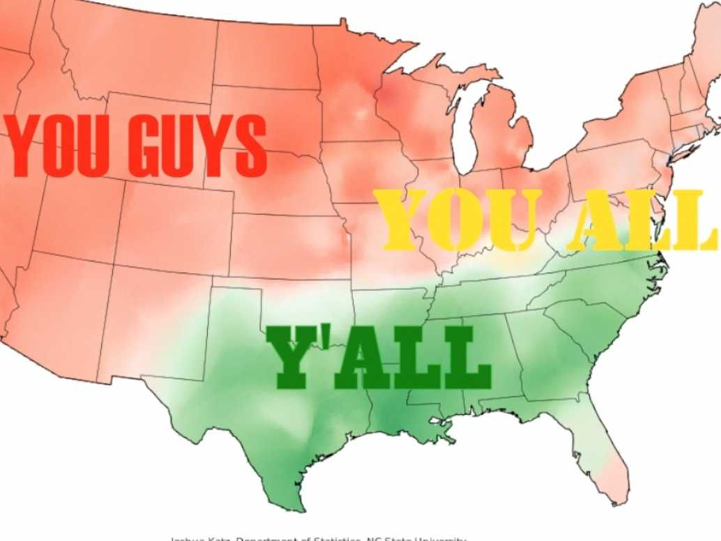 These Maps Prove Americans Speak Totally Different Versions Of The