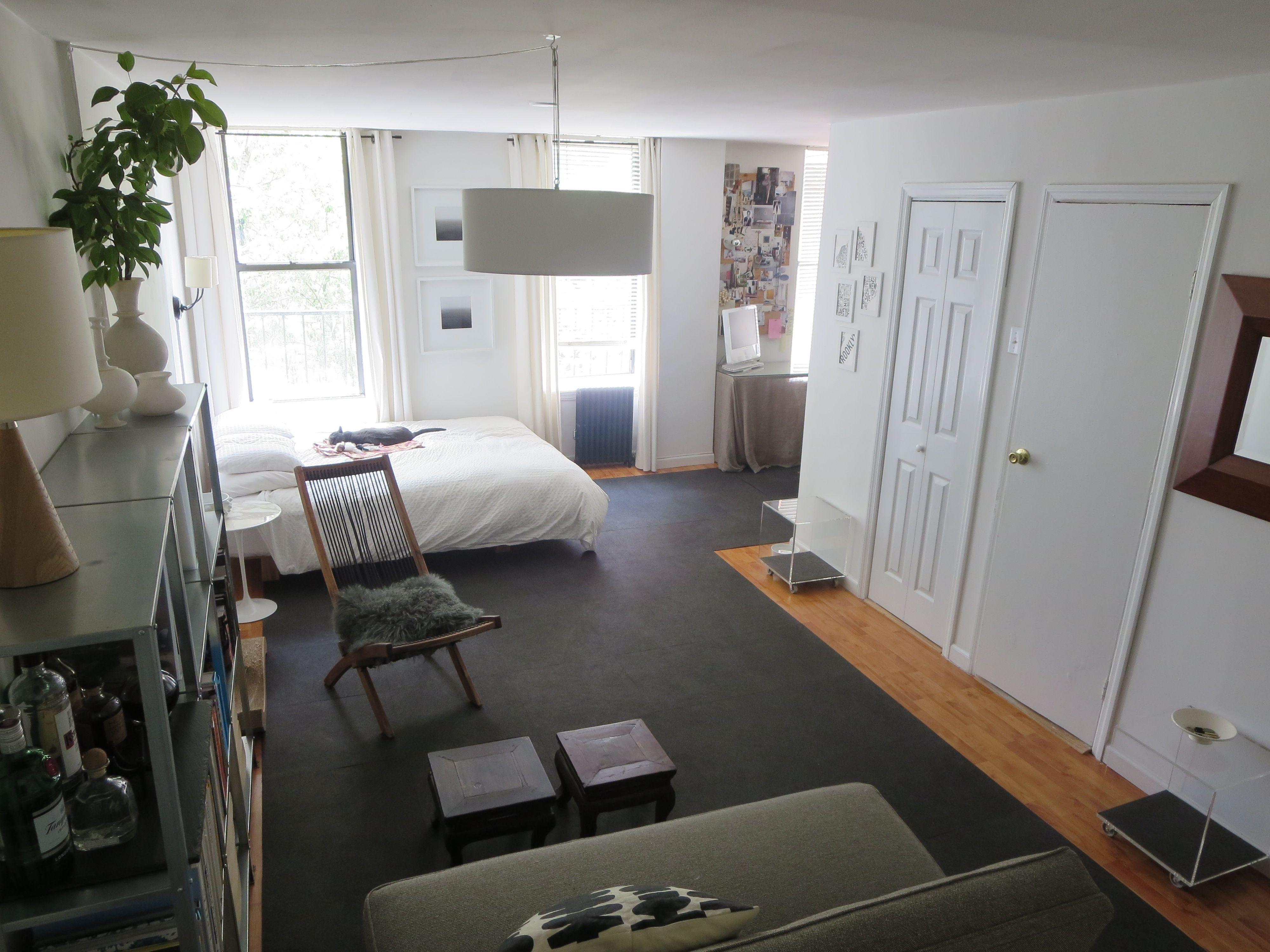 Laura Cattano S Brooklyn Alcove Studio Apartment Twin Bedroom Furniture Sets One Bedroom Apartment 1 Bedroom Apartment