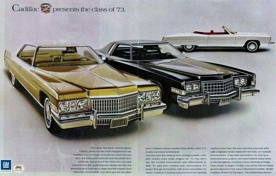 1973 Cadillac ad