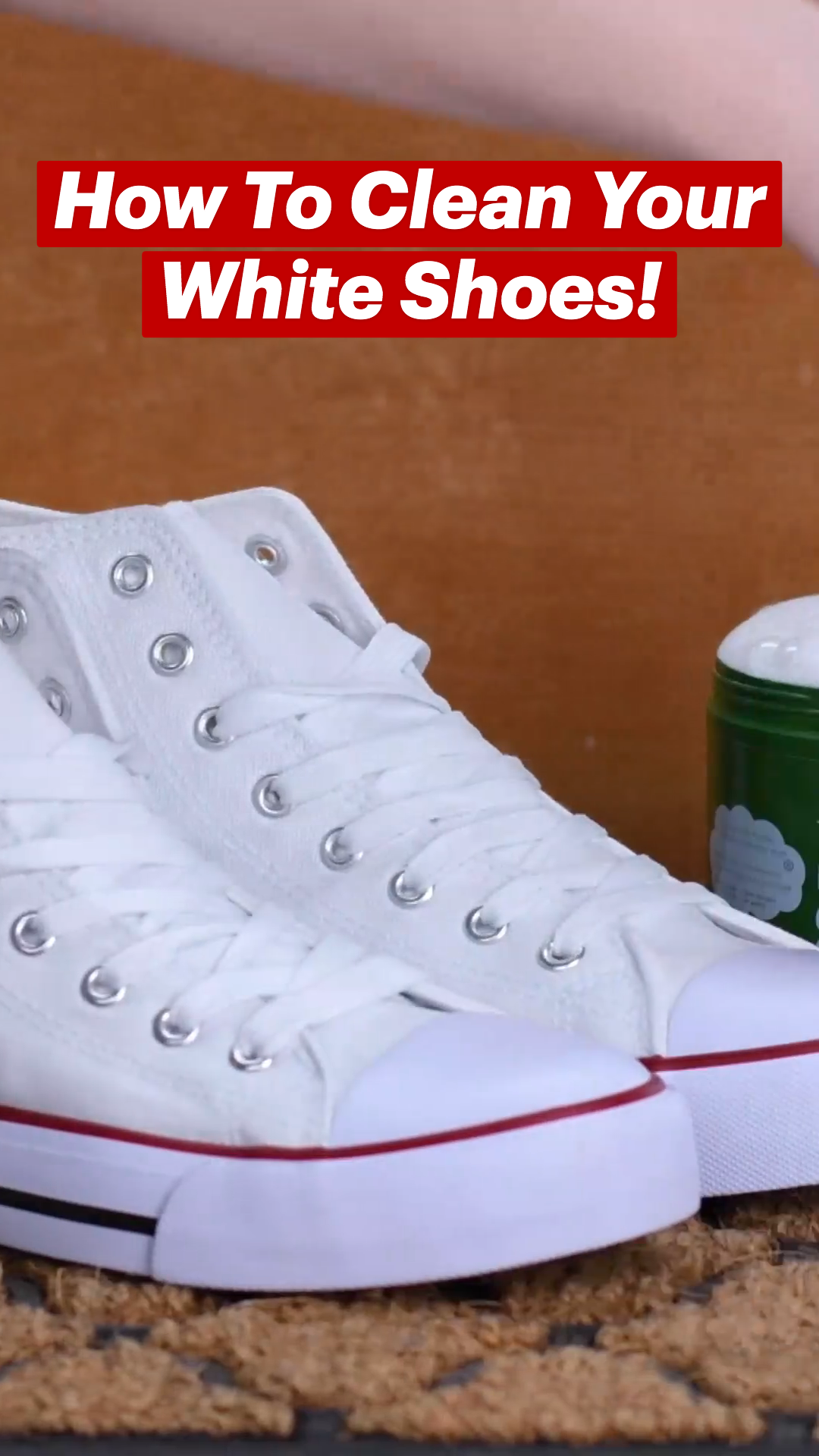 How To Clean Your White Shoes & More!