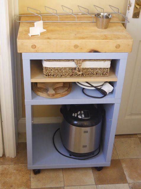 Country Kitchen Island Unit For A Small Urban Kitchen   IKEA Hackers