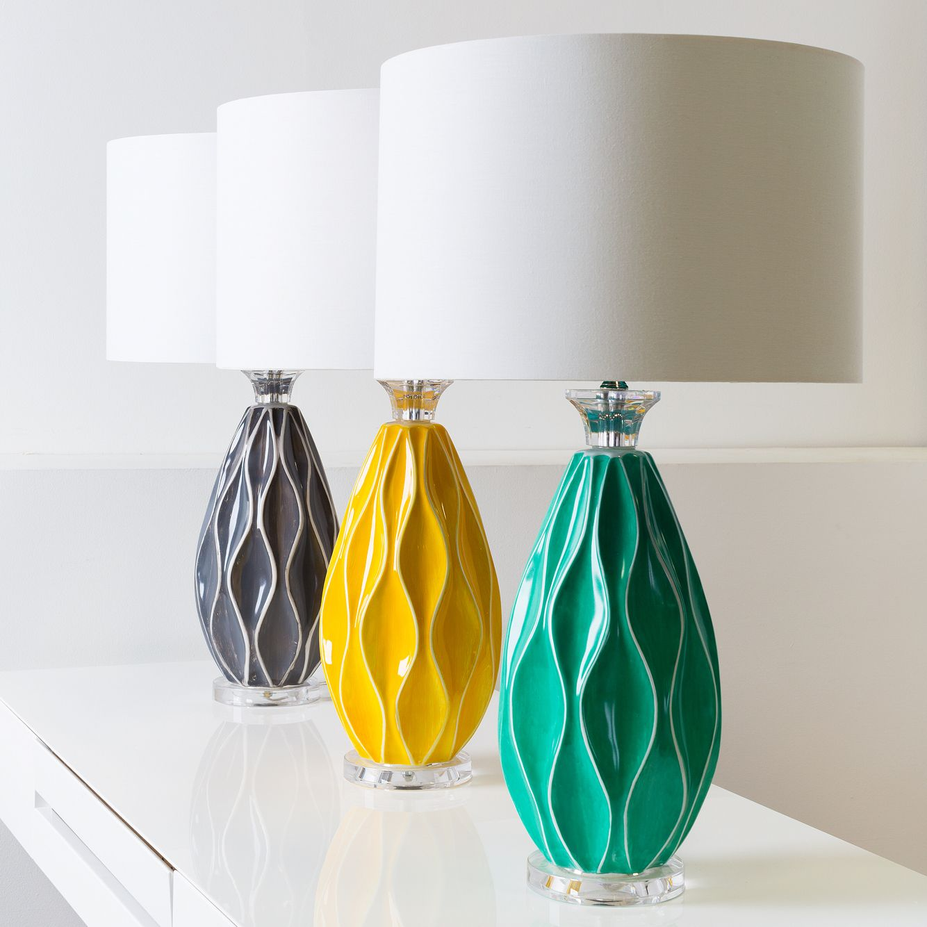 New Bethany Collection Table Lamps From Surya
