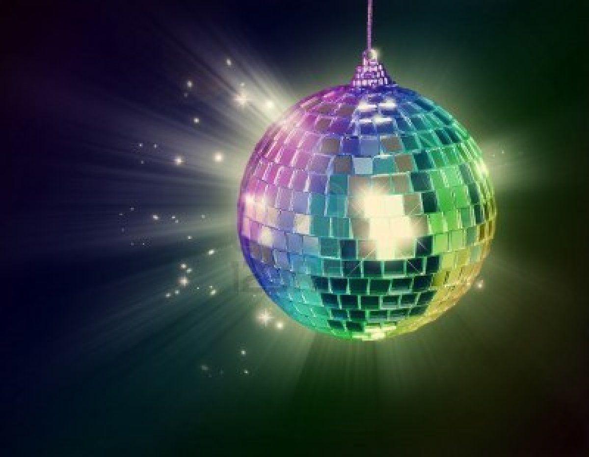 Disco Ball On Black Background Disco Ball Disco Christmas Bulbs