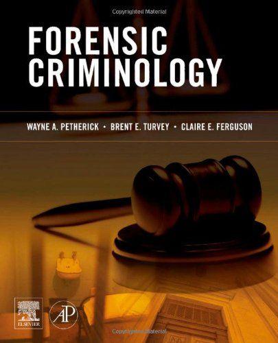 Forensic Criminology Forensics Criminology Forensic Psychology