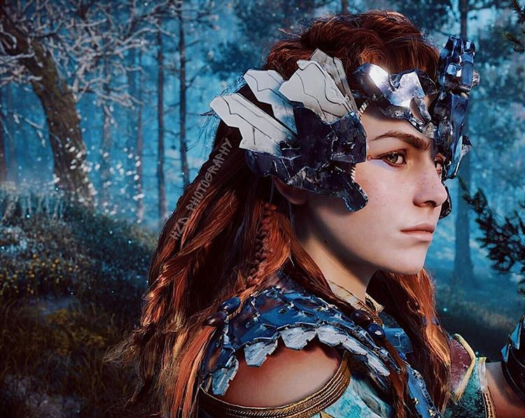 Warrior Princess Aloy Other Awesome Peeps Aloy Hzd I Am The Z Rayl Rey Echo Tone The C Ga Warrior Princess Horizon Zero Dawn Aloy Horizon Zero Dawn