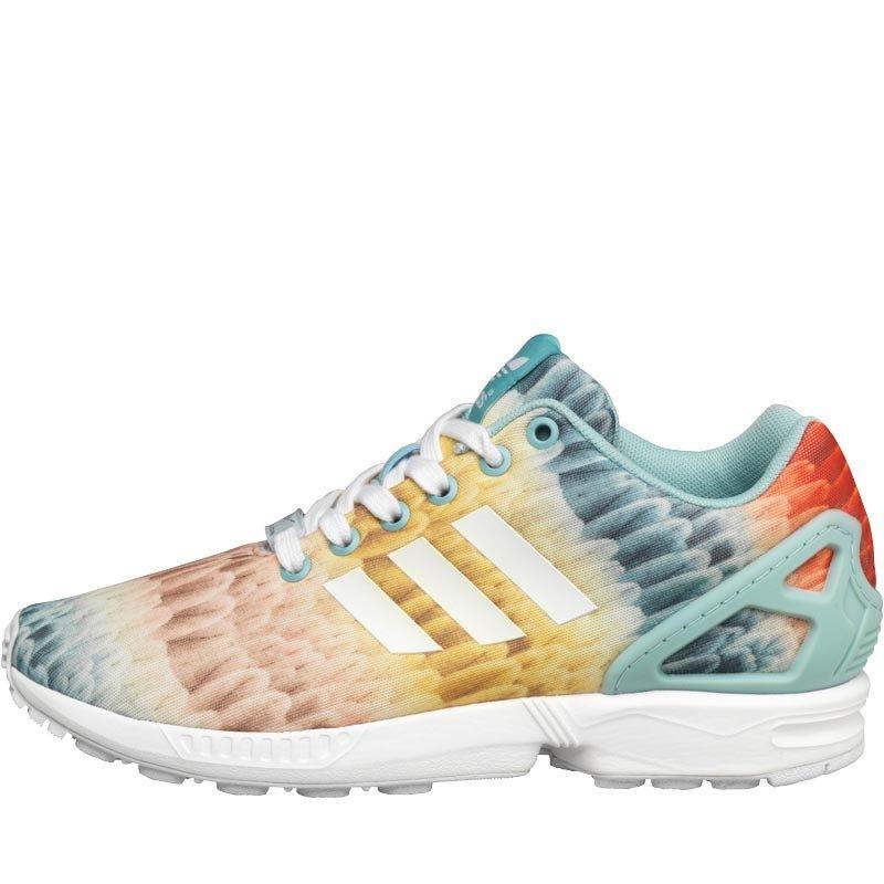 Adidas originali donne zx flusso alla fattoria compagnia