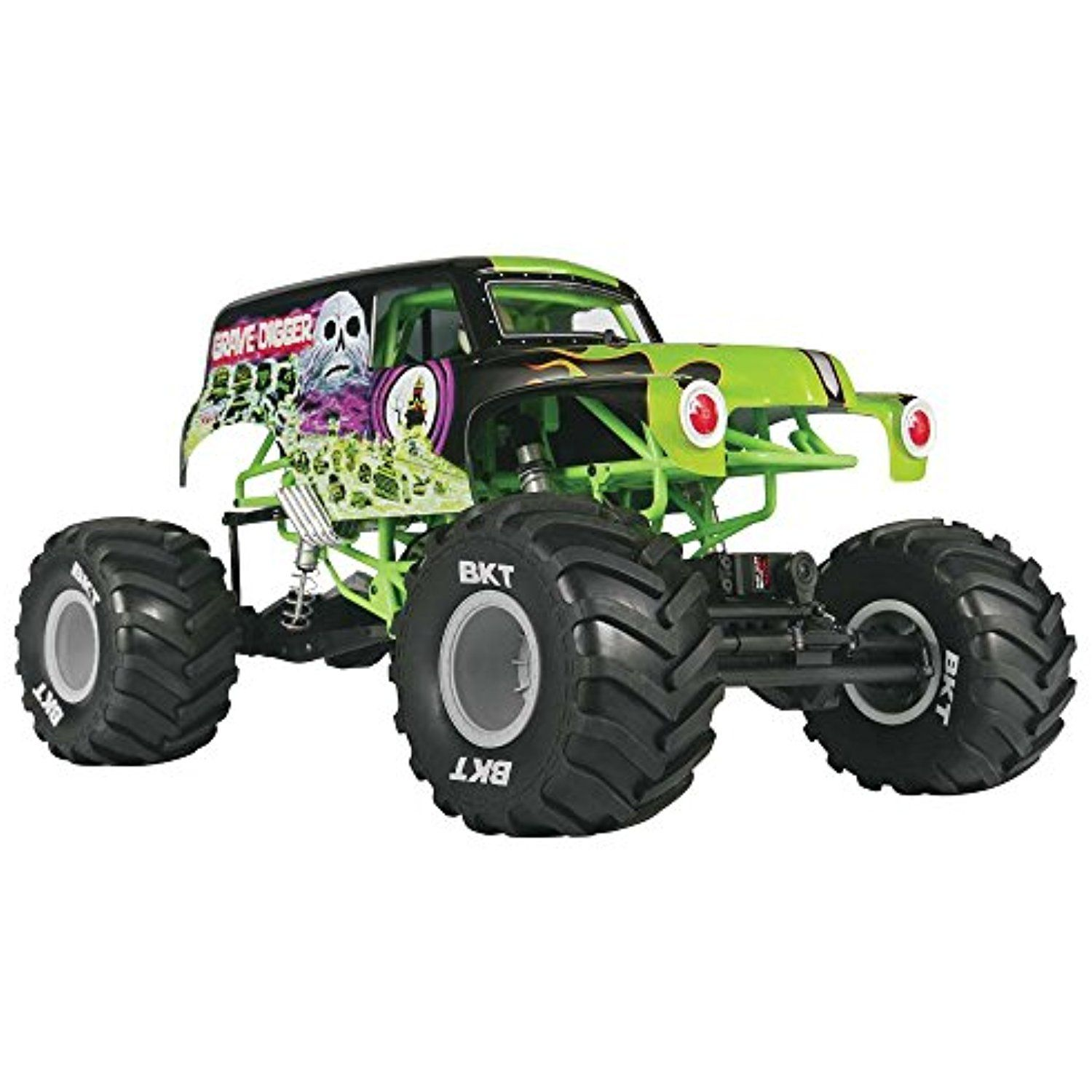AXIAL AX90055 SMT10 1/10th Scale Grave Digger Monster Jam ...