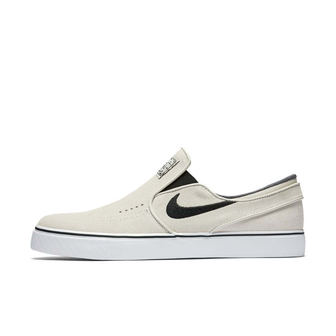 e750914f0ac9 Nike SB Zoom Stefan Janoski Slip-On Men s Skateboarding Shoe Size 7.5  (Light Bone)