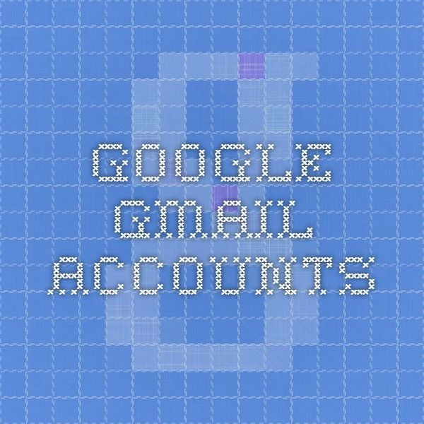 Google GMail Accounts | Sites I visit | Google voice, Google