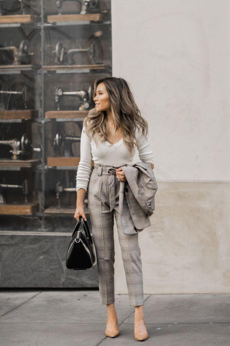 Nette Arbeitskleidung-Ideen für Frauen 07 – WANDARLUST #fallworkoutfits