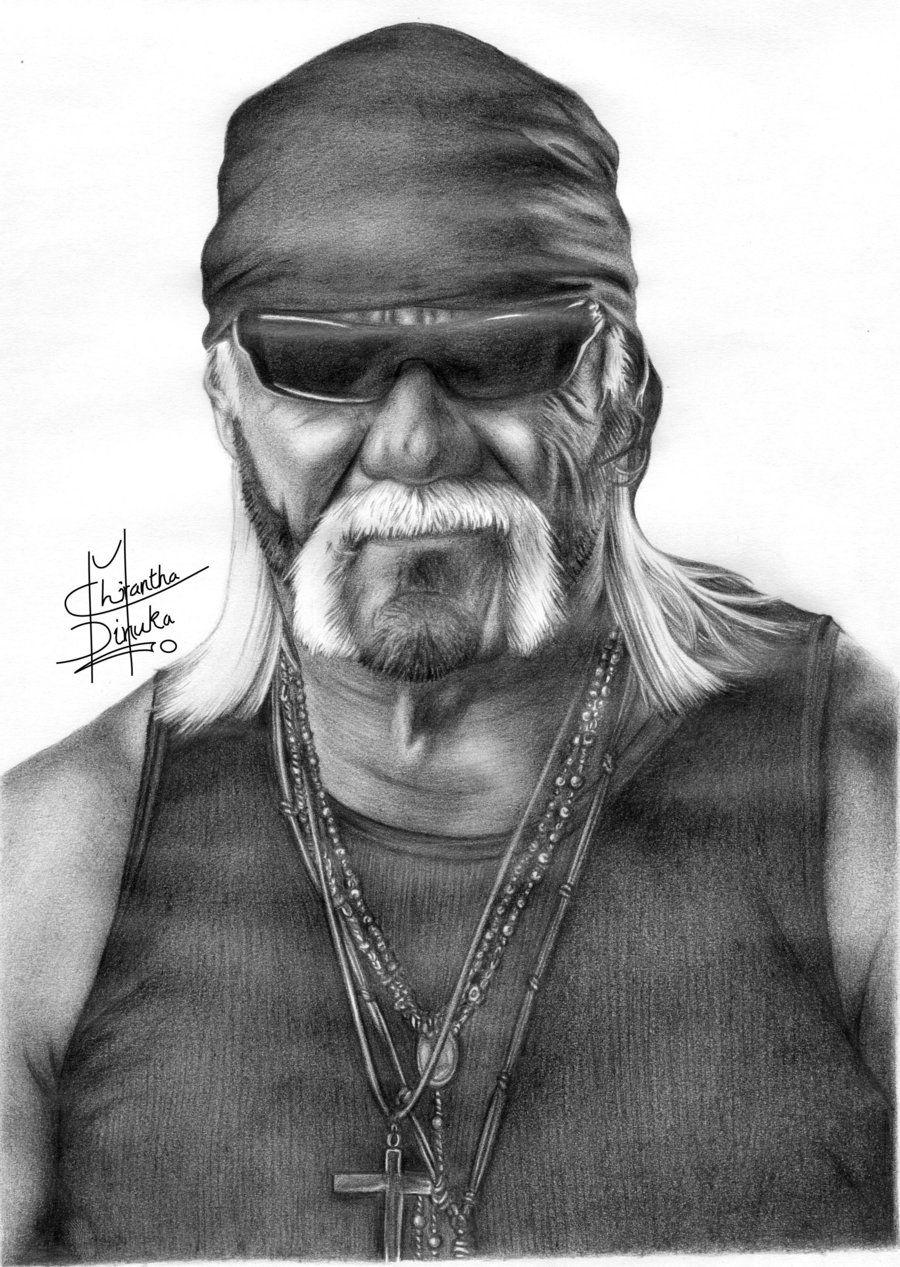 Hulk Hogan By Chirantha Hulk Hogan Hulk Artwork Wwe