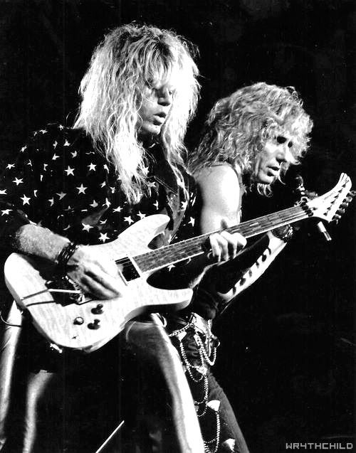 Adrian Vandenberg And David Coverdale Whitesnake
