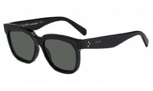 b5e76ff9e664 awesome Celine 41057 S Sunglasses-0807 Black (5D Smoke Lens)-55mm