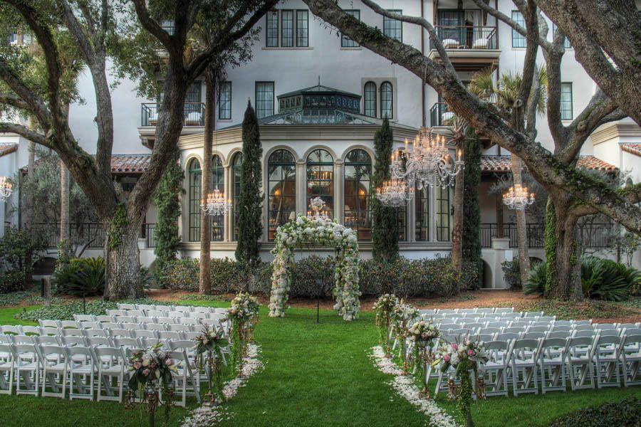 Luxury Southern Wedding Locations Sea Island Venues Top In Georgia