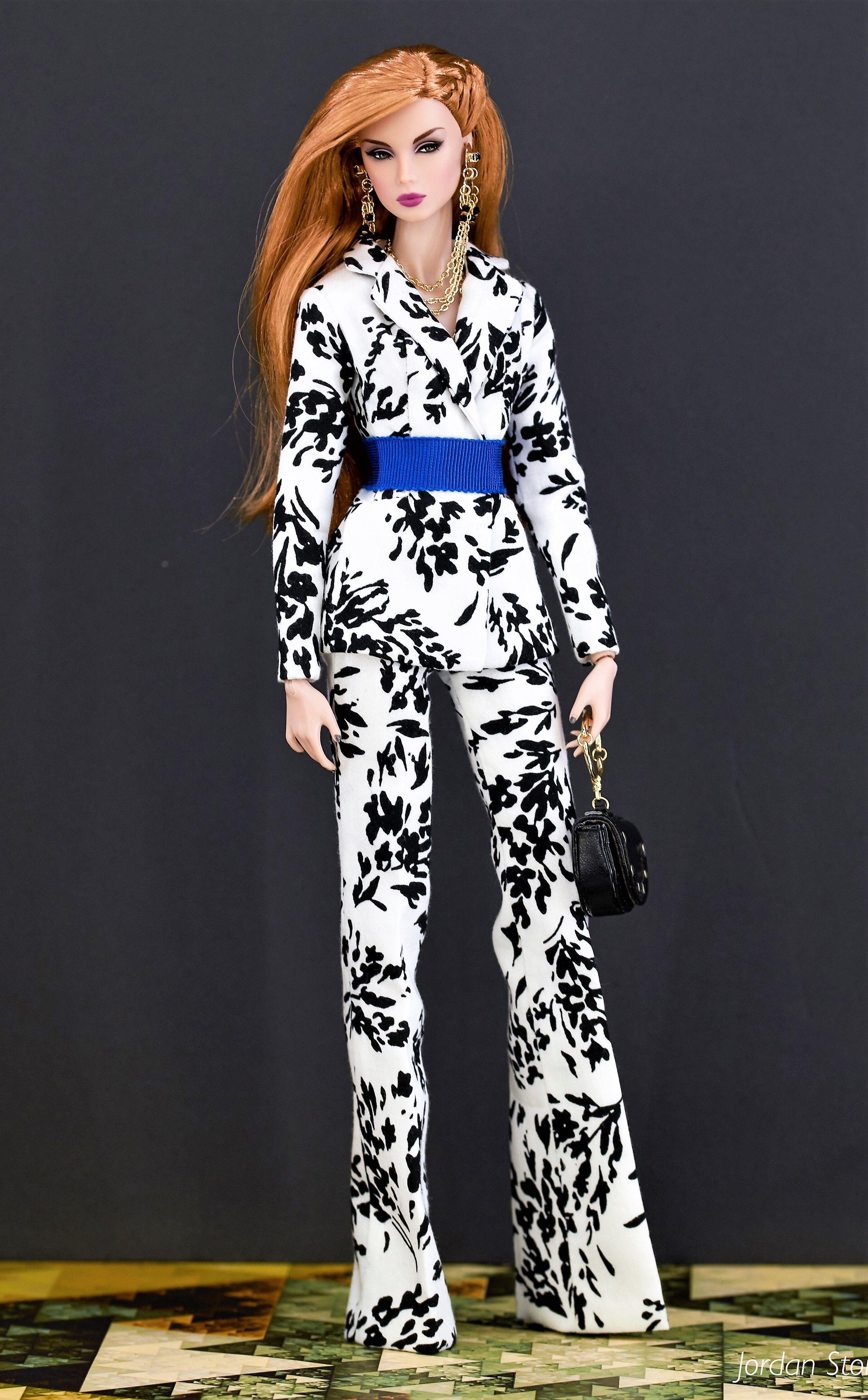 BARBIE CURVY vestiti outfit vestiti bambole Pantaloni Leggings