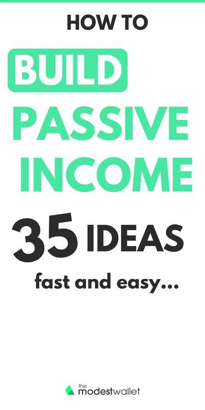 35 Passive Income Ideas to Make Money While You Sl