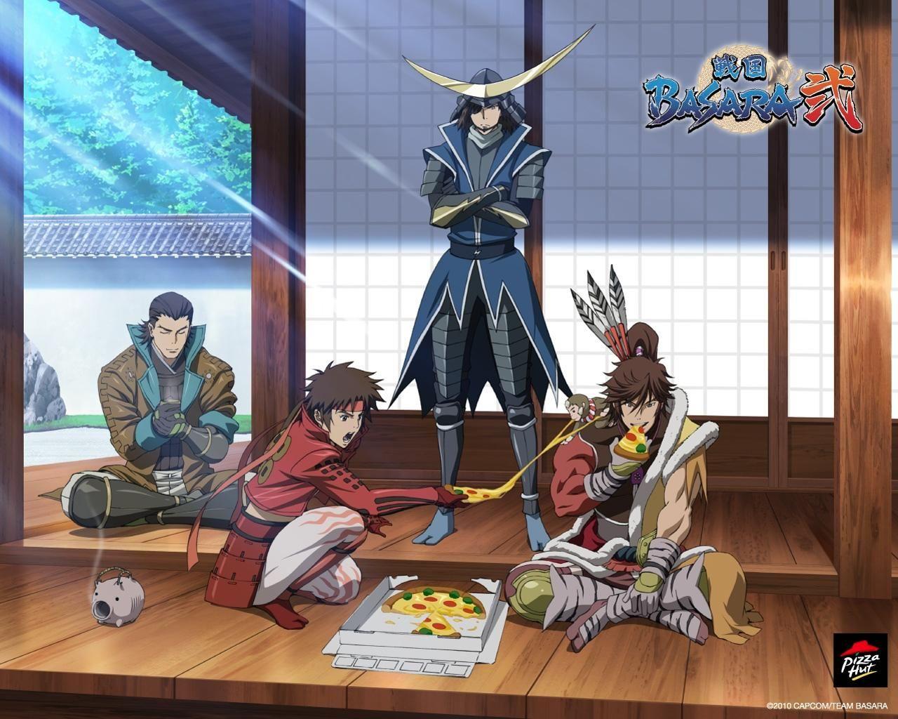 Tags Wallpaper, Scan, Sengoku Basara, Date Masamune