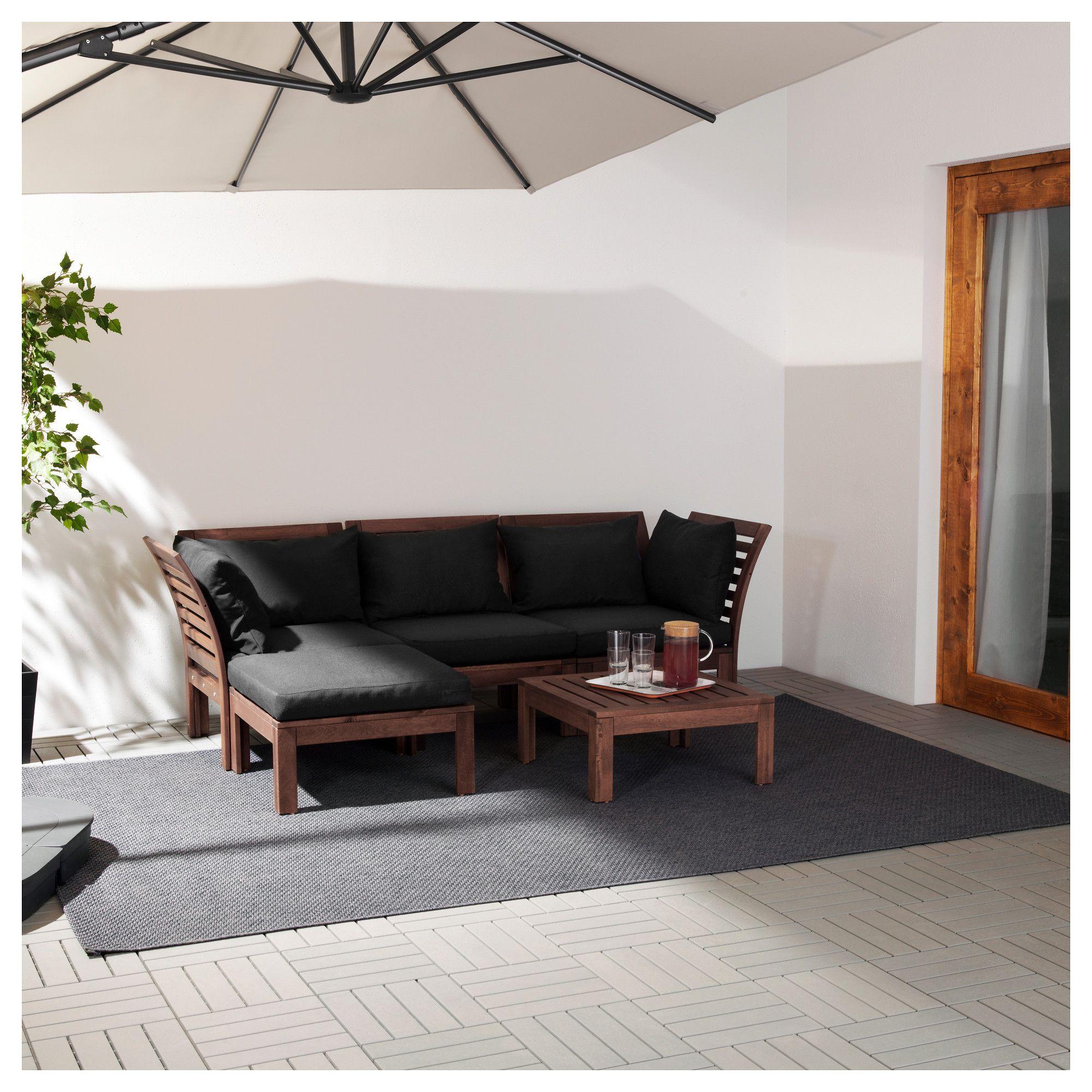 Furniture Home Furnishings Find Your Inspiration Ikea Garden Furniture Ikea Applaro Modular Corner Sofa