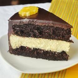 Chocolate Orange Cheesecake Cake