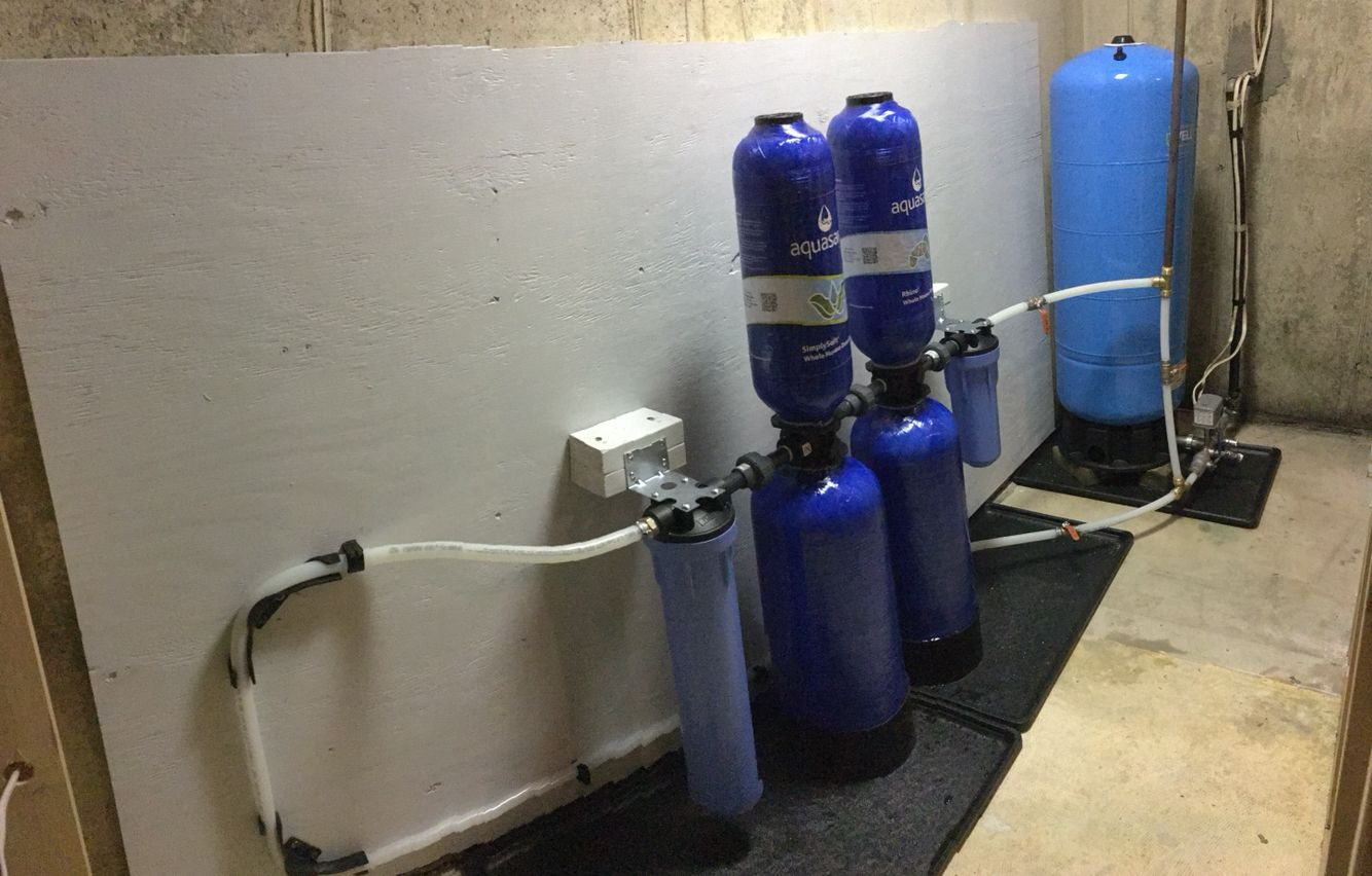 Installed A Whole House Water Filtration System Today